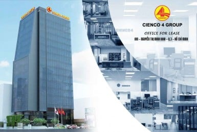 cienco 4 office for lease for rent in district 3 ho chi minh
