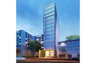 The Address Phan Dinh Phung office for lease for rent in phu nhuan ho chi minh