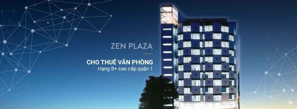 Zen Plaza office for lease for rent in district 1 ho chi minh