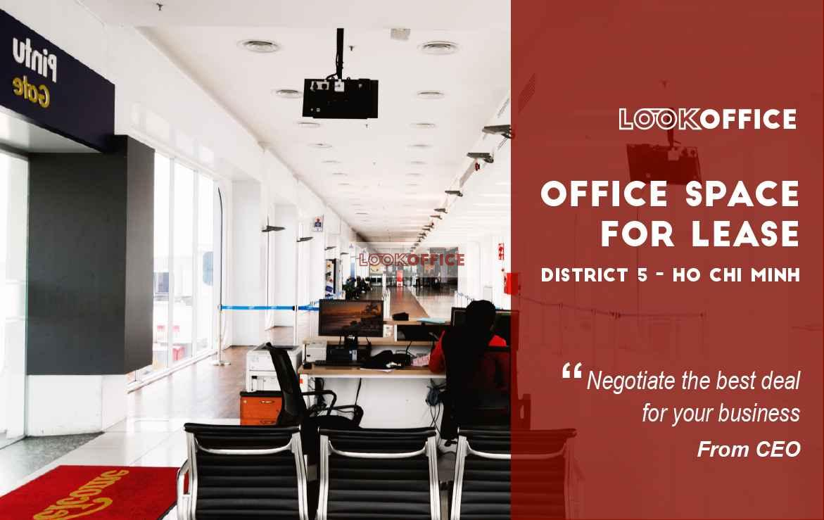 office space for lease for rent in district 5 ho chi minh