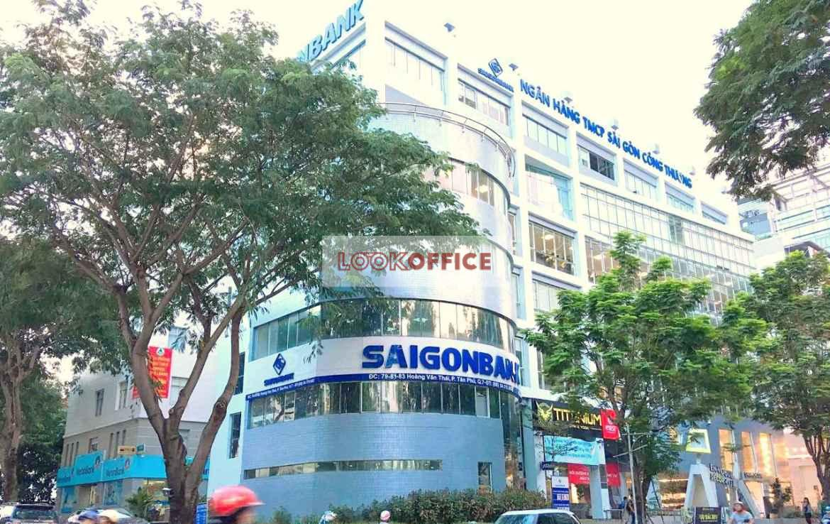 saigonbank building office for lease for rent in 7 ho chi minh