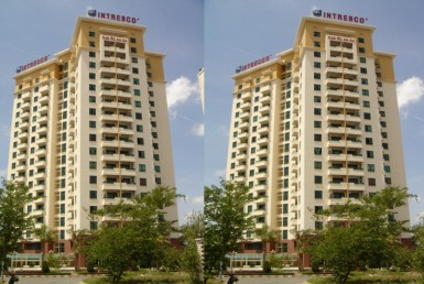 ضلع 2 ہو چی منہ میں کرایہ کے لئے ایک کیو عمارت کا دفتر