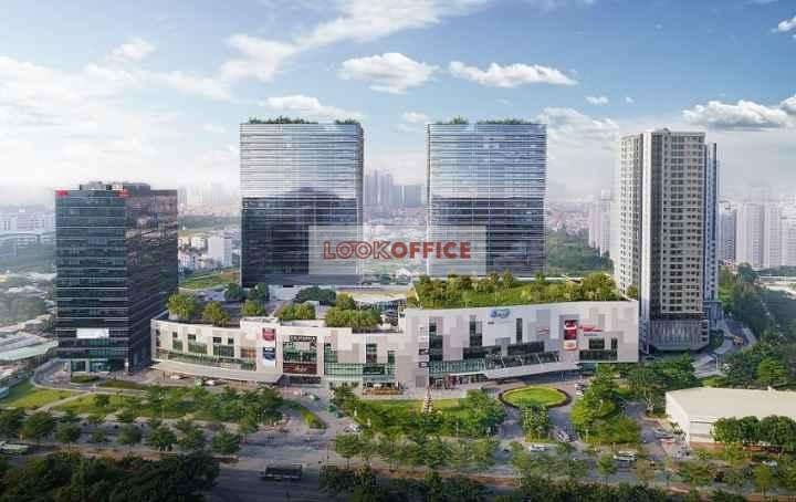 v plaza tower office for lease for rent in district 7 ho chi minh