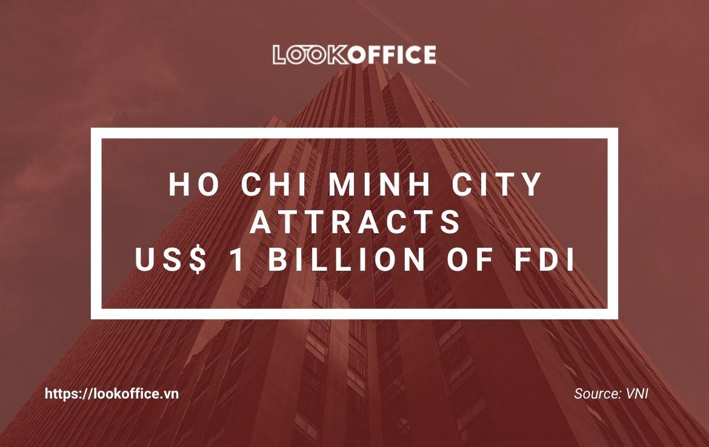 [News] Ho Chi Minh City attracts US $ 1 billion of FDI