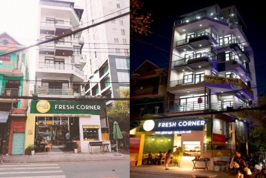 fresh corner building office for lease for rent in district 4 ho chi minh