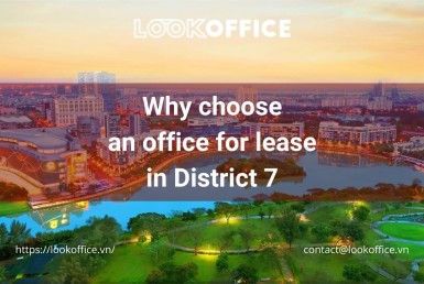 office for lease in District 7 - lookoffice.vn