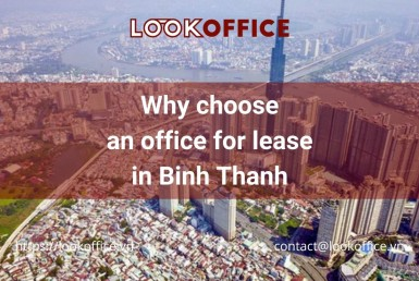 office for lease in Binh Thanh - lookoffice.vn
