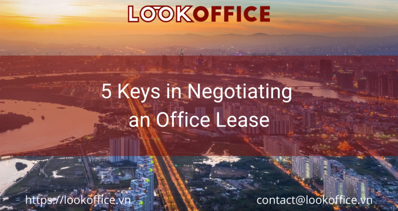 5 Keys in Negotiating an Office Lease