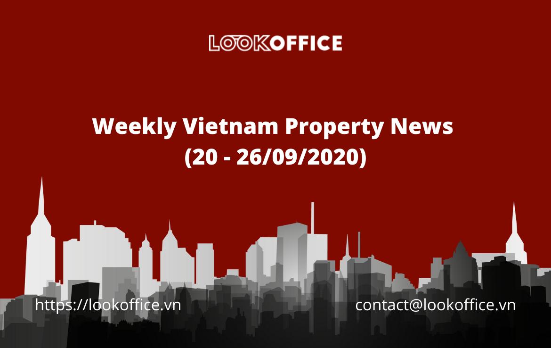Weekly Vietnam Property News  (20 – 26/09/2020)