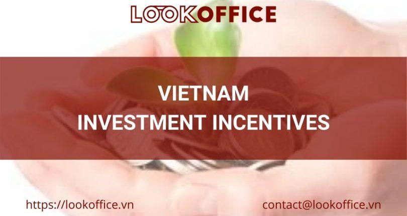 ویتنام میں سرمایہ کاری کے مراعات