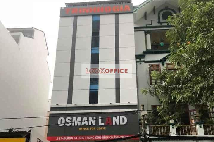 osaman buildingland office for lease for rent in binh chanh ho chi minh
