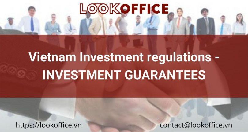 Vietnam Investment regulations – INVESTMENT SUPPORT