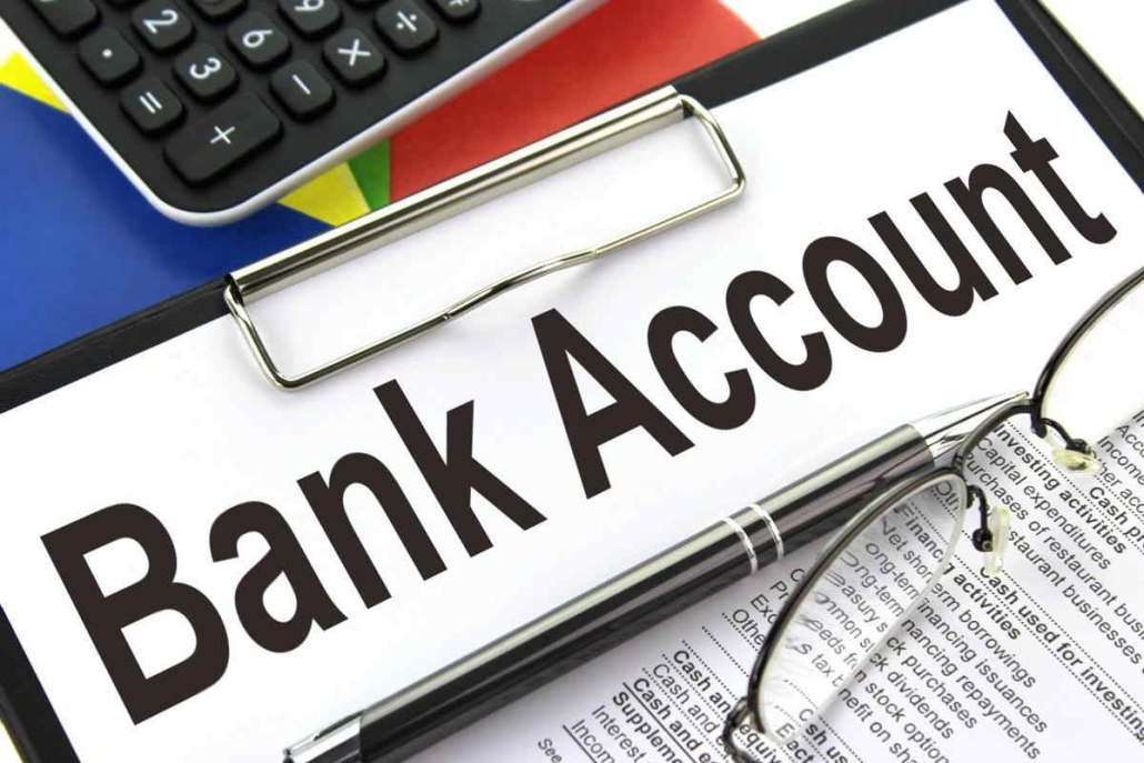 Open a bank account - lookoffice.vn