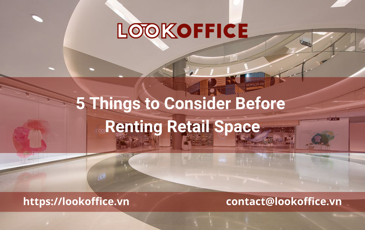 5 Things to Consider Before Renting Retail Space