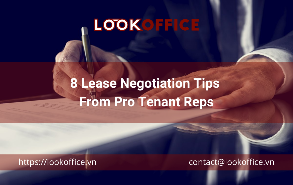 8 Lease Negotiation Tips From Pro Tenant Reps