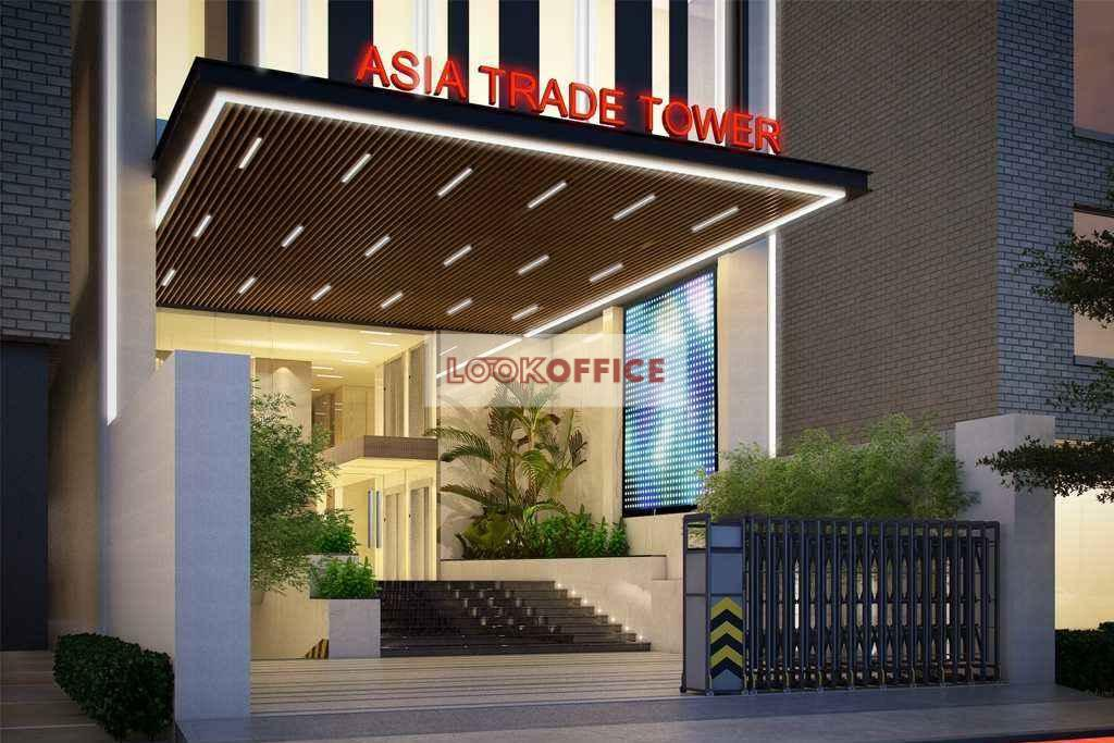 asia trade building office for lease for rent in district 7 ho chi minh