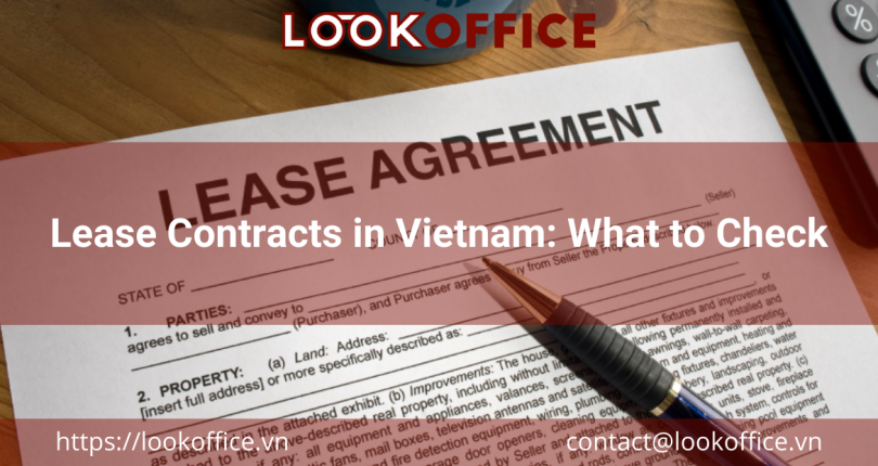 Lease Contracts in Vietnam: What to Check