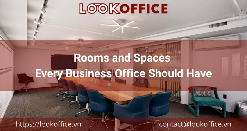 Rooms and Spaces Every Business Office Should Have