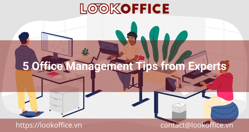 5 Office Management Tips from Experts