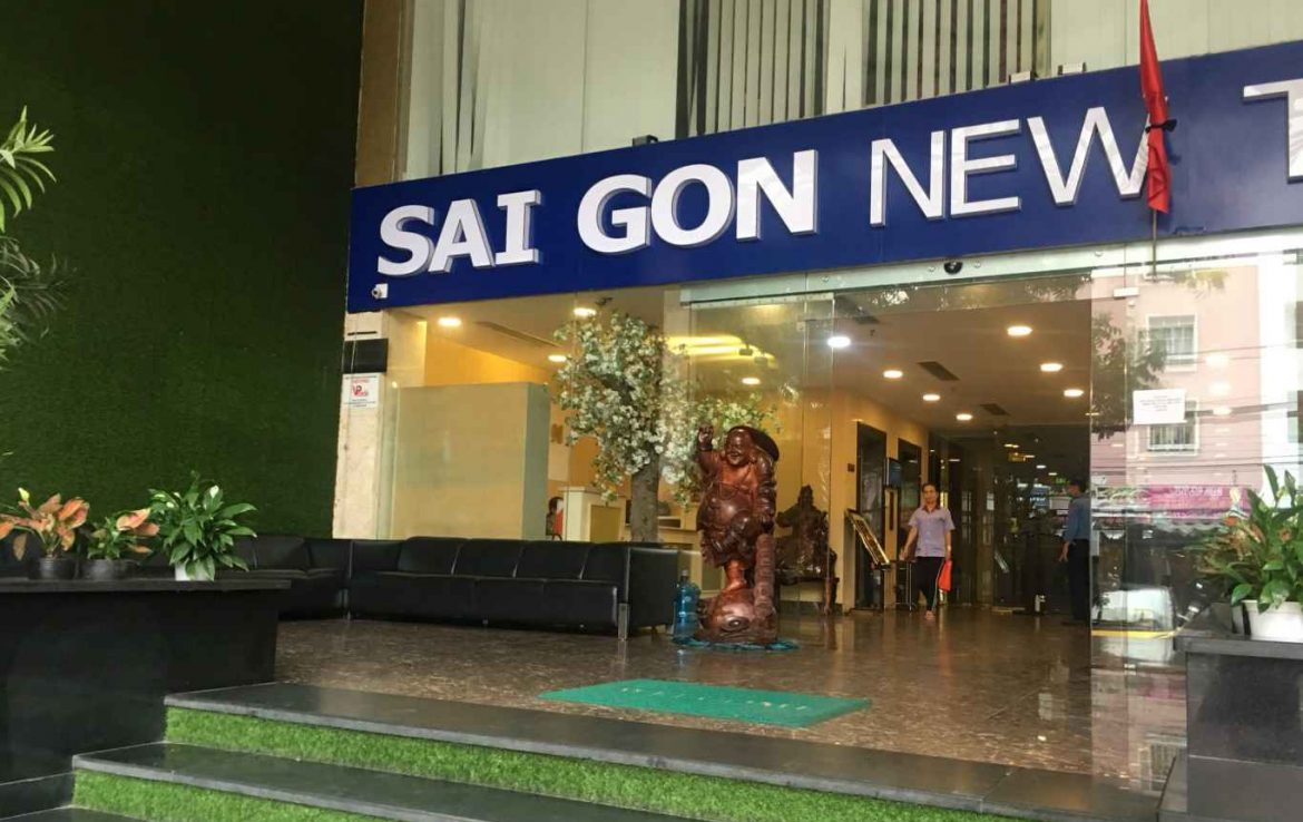 saigon new tower office for lease for rent in district 5 ho chi minh