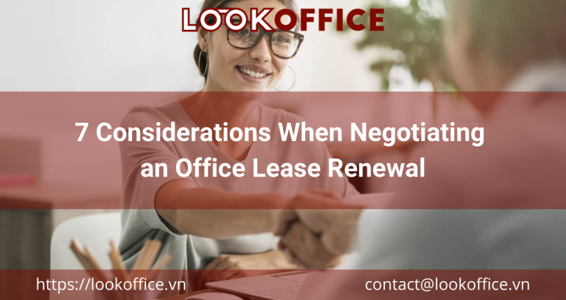 7 Considerations When Negotiating an Office Lease Renewal