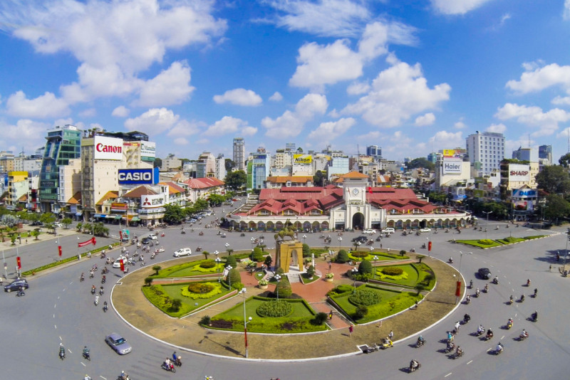 Prime location - District 1 is the heart of HCMC