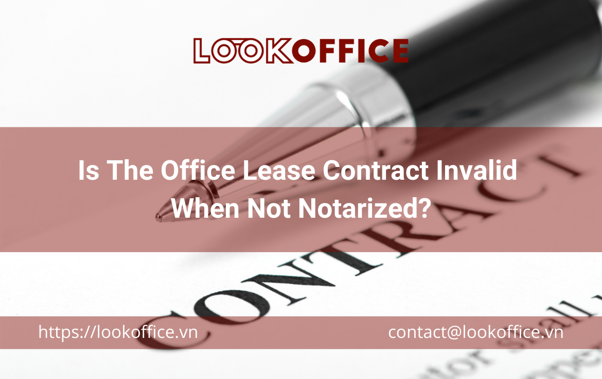 Is The Office Lease Contract Invalid When Not Notarized?