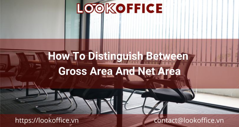 How To Distinguish Between Gross Area And Net Area