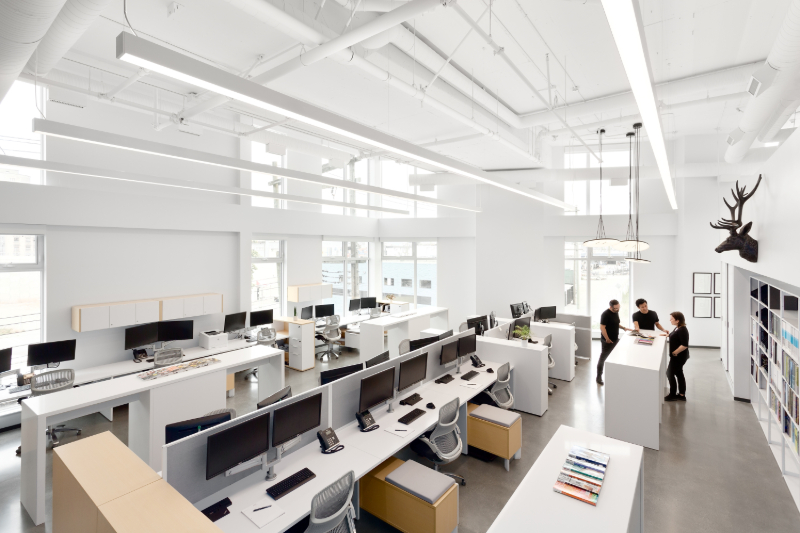3. Choose to hire an office design unit: