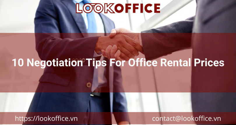 10 Negotiation Tips For Office Rental Prices