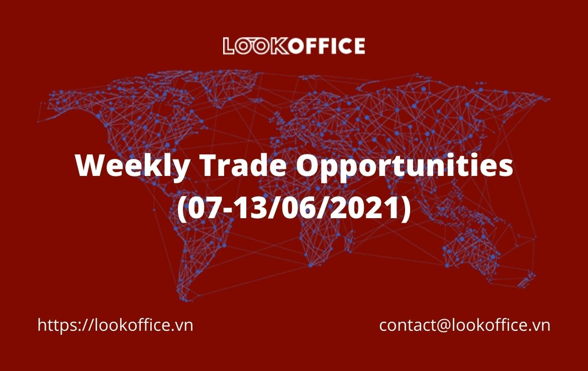 Weekly Trade Opportunities (07-13/06/2021)