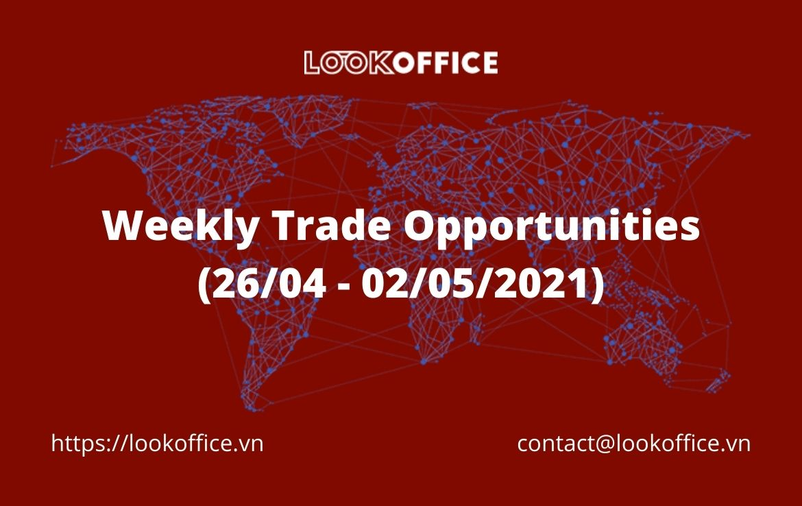 Weekly Trade Opportunities (26/04 – 02/05/2021)