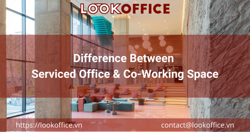 Difference Between Serviced Office & Co-Working Space