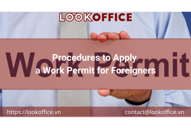 Procedures to Apply a Work Permit for Foreigners - lookoffice.vn