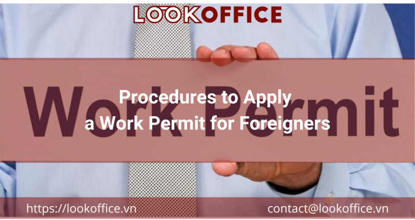 Procedures to Apply a Work Permit for Foreigners