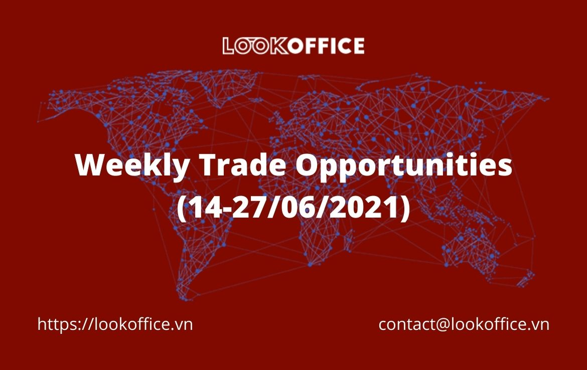 Weekly Trade Opportunities (14-27/06/2021)