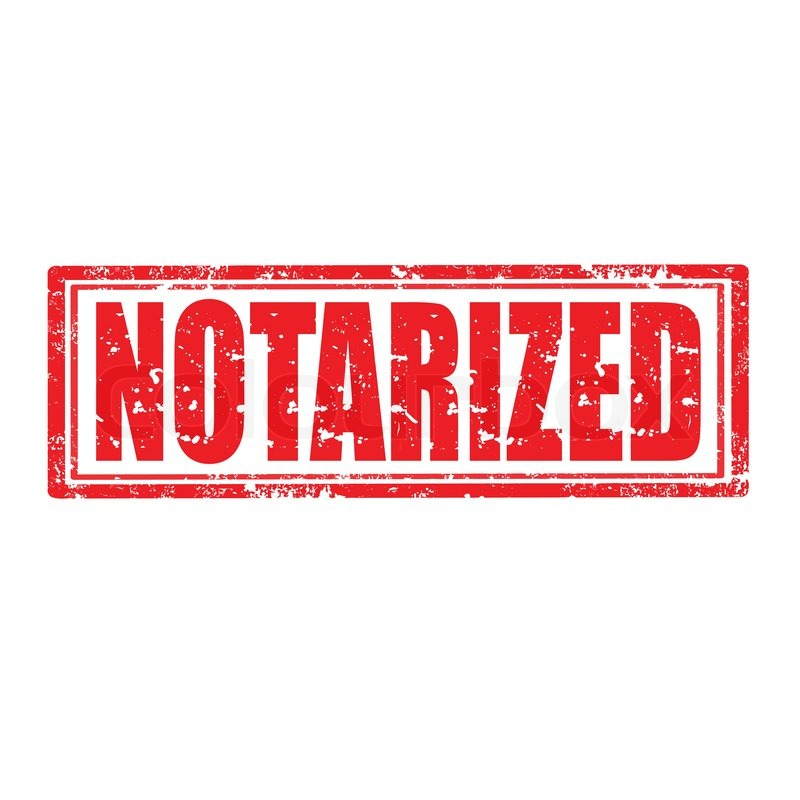 Procedures for notarization of the office lease contract and document requirements