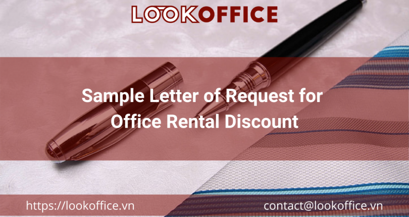 Sample Letter of Request for Office Rental Discount