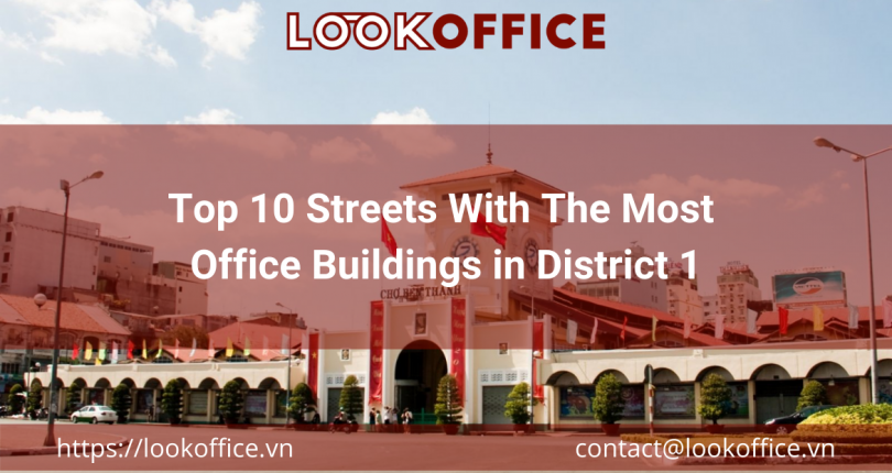 Top 10 Streets With The Most Office Buildings in District 1