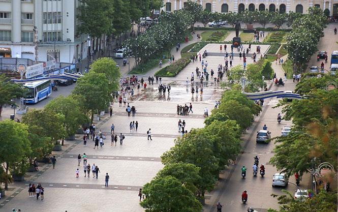 Nguyen Hue Street - District 1