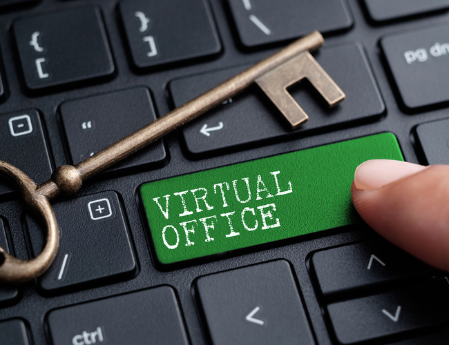 What are virtual offices?