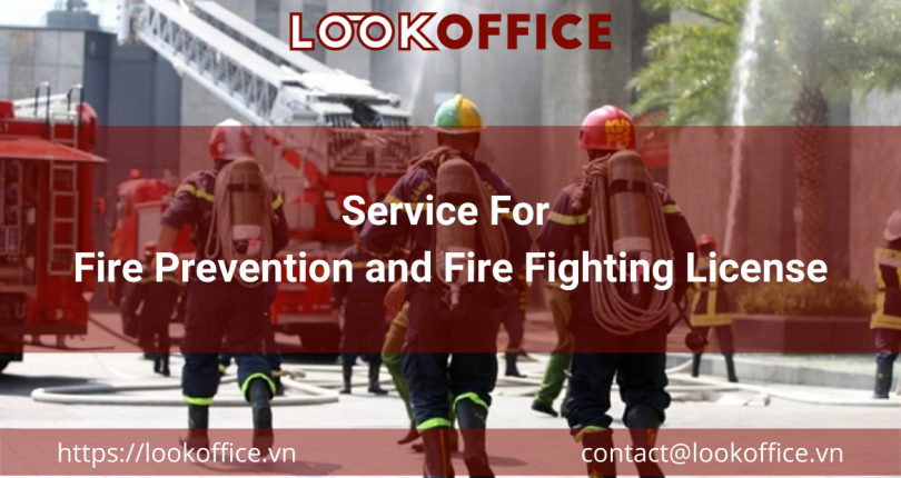 Service For Fire Prevention and Fire Fighting License